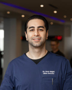 Dr. Amir Majidi, DC, BSc Spine & Extremity Chiropractor Clinic Director